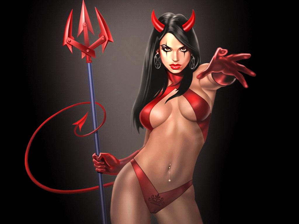 Сексапильная дьяволица